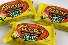 Reese peanut butter eggs