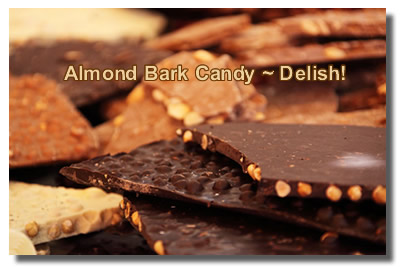 Make Your Own Almond Bark Candy!