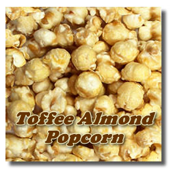 Almond Toffee Popcorn