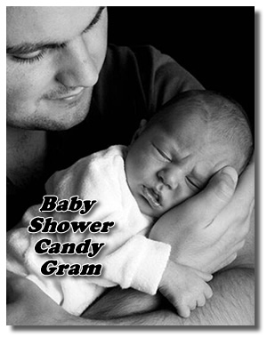 Ideas For Making A Baby Shower Candy Bar Card