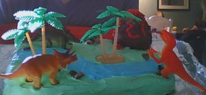 Dinosaur Birthday Cake for Caleb