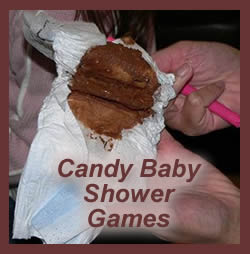 using candy baby shower games is a great way to add life to your party