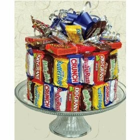 Candy Bar Cake available at CandyBlast.com