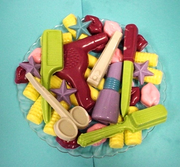 Chocolate Candy Tray by Joyce