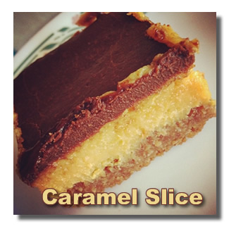 Chocolate Caramel Bars