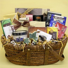 chocolate mothers day gift basket