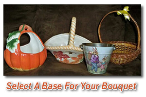 Instructions For Making a Chocolate Bouquet Gift Basket