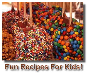 chocolate candy recipes for kids