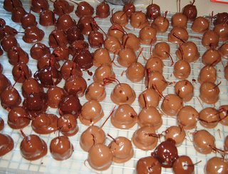 Cherries Dipped In Chocolate