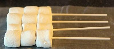 Make Your Own Chocolate Marshmallow Pops