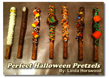 Halloween Pretzels Treat
