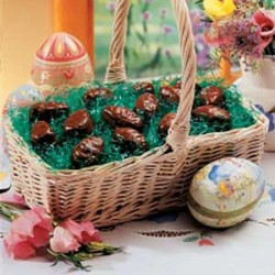 easter dessert recipes chocolate covered peanut butter easter eggs