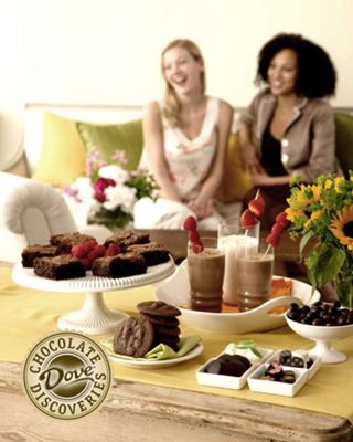 Chocolate Tasting Parties By Dove Chocolate Discoveries