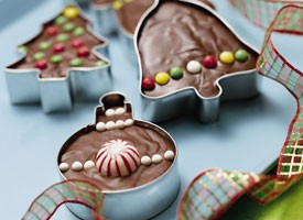 Cookie Cutter Fudge by Betty Crocker