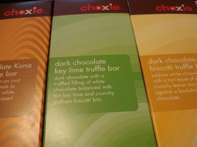 Choxie Chocolate Bars
