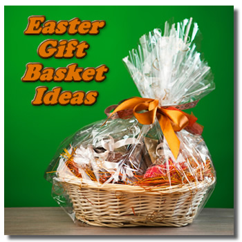 Easter basket gifts negle Images