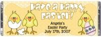 Easter party ideas custom candy bar wrappers