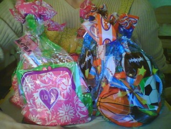 Easter Party Candy Gift Bags