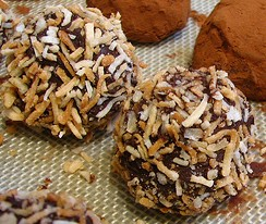 fudge balls or truffles