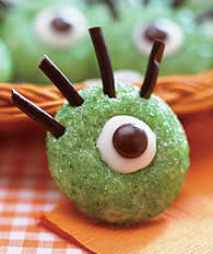 halloween cookie recipe monster eyes