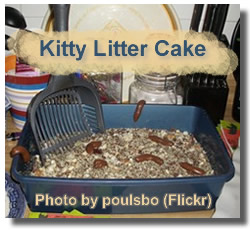 Halloween Recipes Kitty Litter Cake
