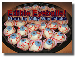 Halloween  Recipes Peanut Butter Eyeballs