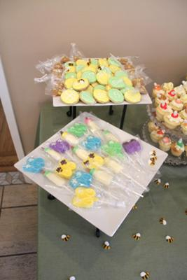Molded Chocolate  Baby Bottles, Baby Feet, and Booties