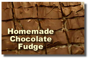 homemade chocolate fudge recipes