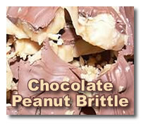 homemade chocolate candy peanut brittle recipes