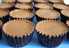 Chocolate Peanut Butter Marshmallow Cups