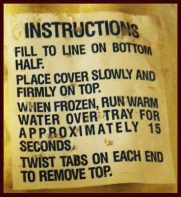 Instructions for Party Talk Tray
