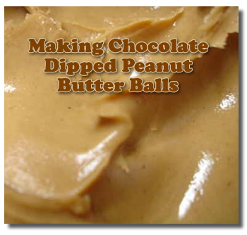 Tips For Dipping Peanut Butter Balls