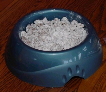 Homemade Puppy Chow Snack