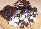 rocky road chocolate candy