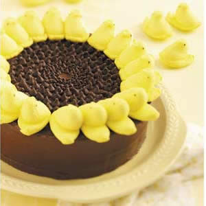 sunflower easter cake recipe