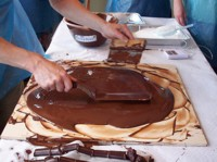 tempering chocolate melting