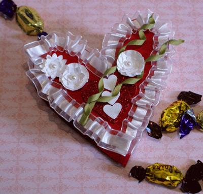 Homemade Valentine Box Idea for Chocolates