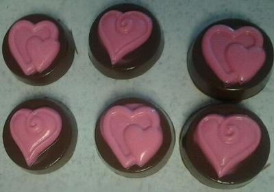 Pink Hearts Peanut Butter Cups