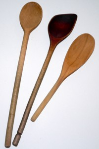 candy making tools wooden spoons