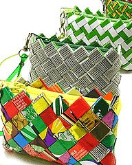 Candy Wrapper Handbags