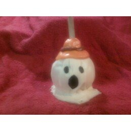 Ghost Candy Apple
