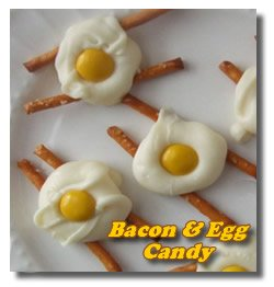 Bacon and Eggs Candy Recipe