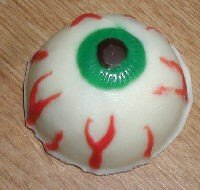 Halloween eyeball chocolate mold
