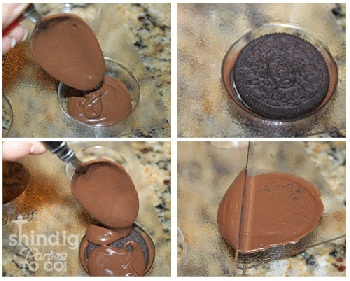 How To For Chocolate Oreo Cooke Molds