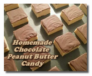 chcolate peanut butter candy recipes