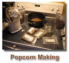 how to make chocolate popcorn