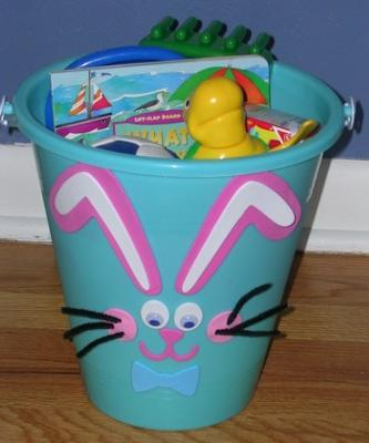 Easter Basket Craft Bucket