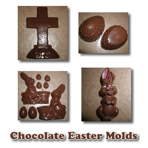 Easter Candy Molds