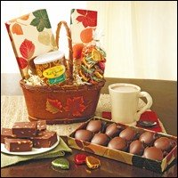 Fannie May Fall Chocolate Gift Basket