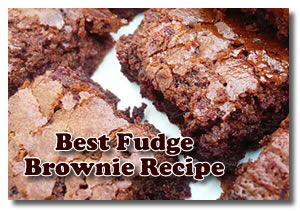 Best Fudge Brownie Recipe